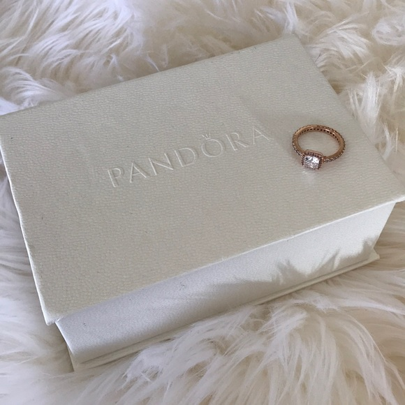 off Pandora Accessories Women s rose gold ring ring